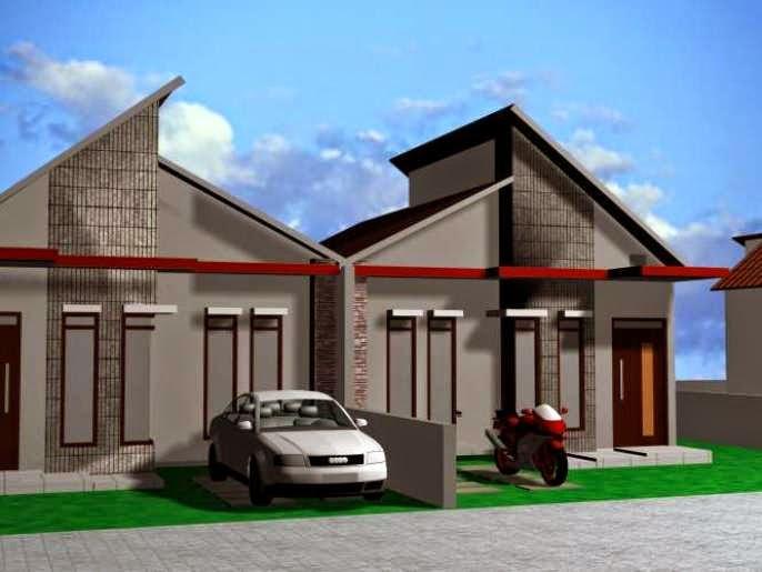 model rumah tipe 36 luas tanah 72 rumah tipe 36/72 2 lantai