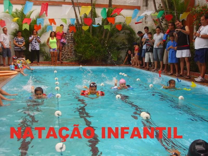 CURSO DE NATAÇÃO INFANTIL EXCLUSIVO PARA ALUNOS DA ESCOLA
