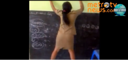 Untitled SKANDAL Guru Wanita Ini Mabuk dan Dugem Di Kelas