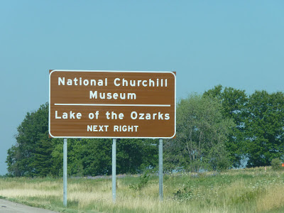 Churchill museum and Ozarks museum