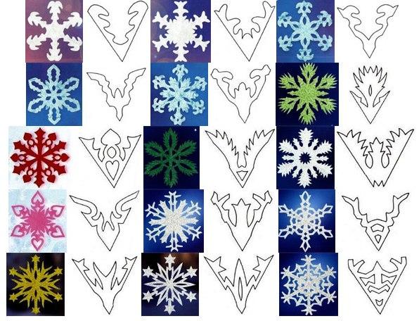 Как сделать красивую круглую снежинку из бумаги