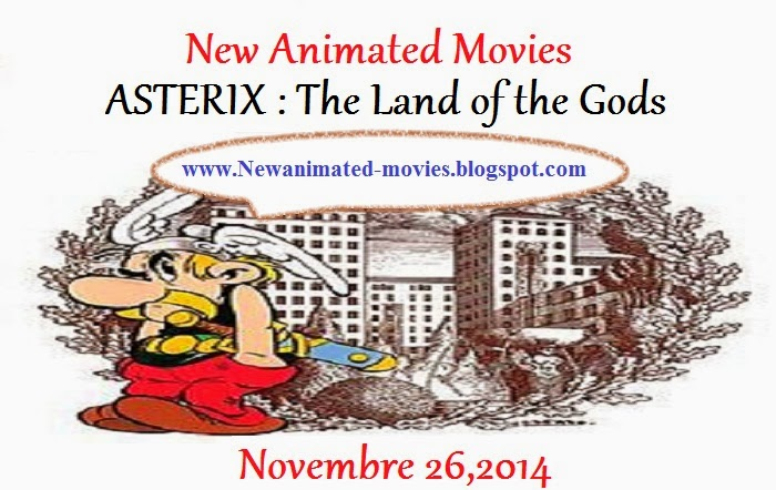 Asterix : the land of the gods (the new animated movie)