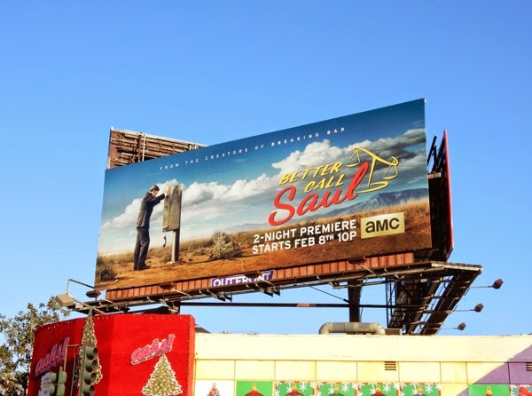 Better Call Saul series premiere billboard