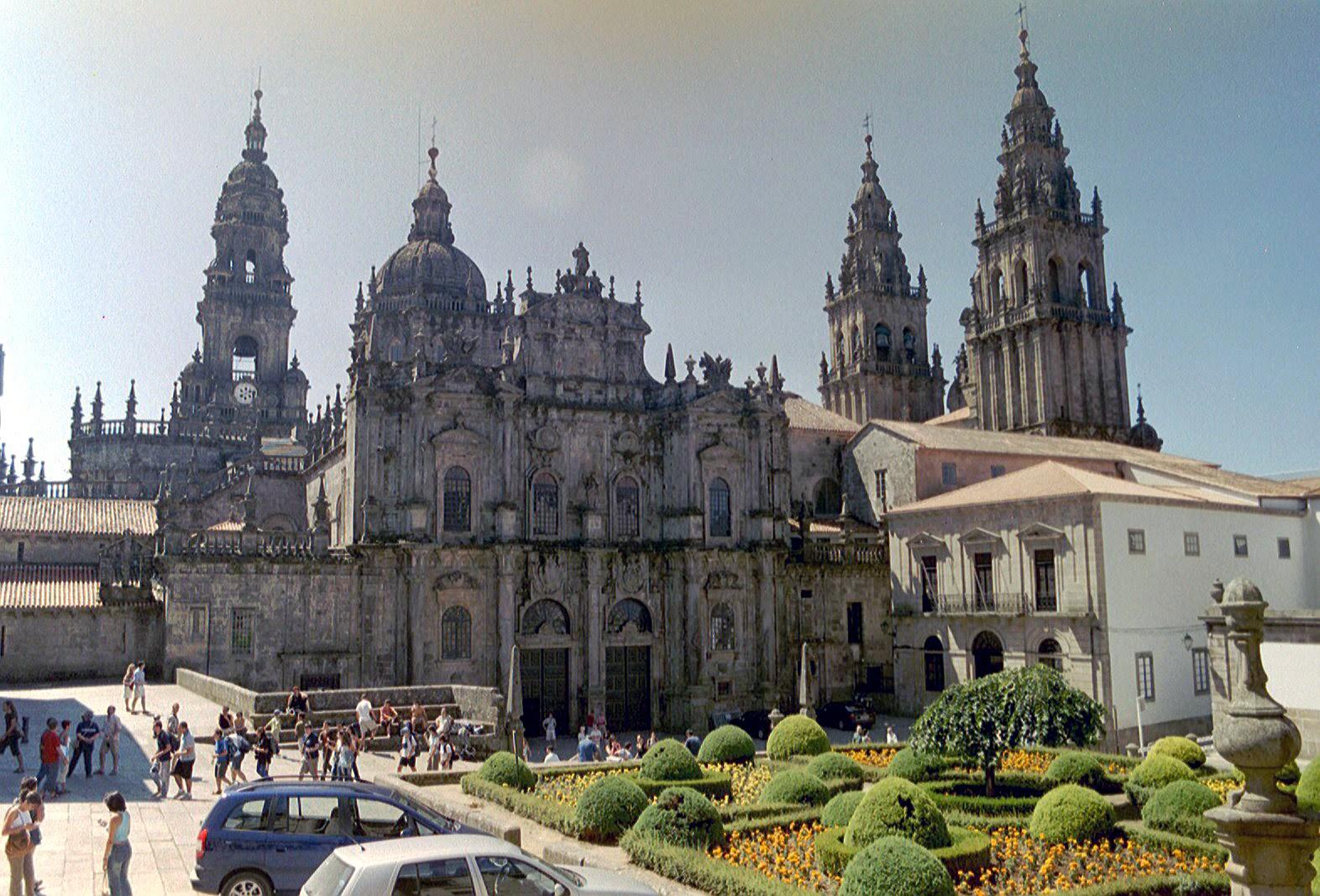 Cathedral of santiago de compostela spain tourist - Persianas santiago de compostela ...