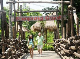 Tempat Wisata Taman Safari dan Bahari Gianyar