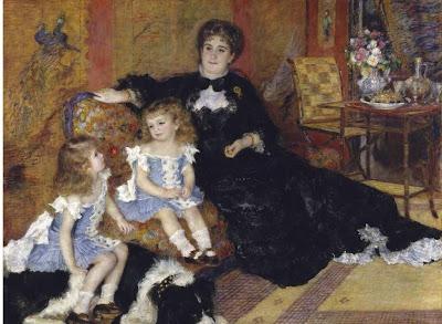 Pierre-Auguste Renoir (1841-1919) Portrait de Madame Charpentier et de ses enfants, 1878