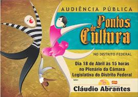 Audiência Publica - Pontos de Cultura