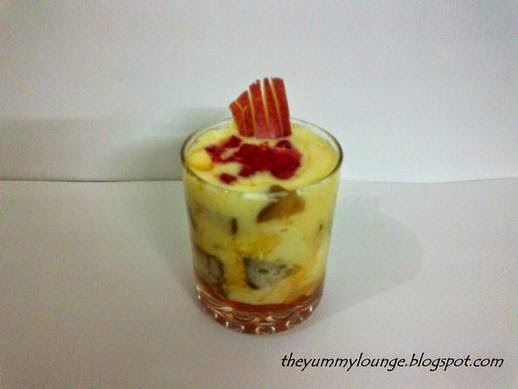 Custard Fruit Salad Recipe