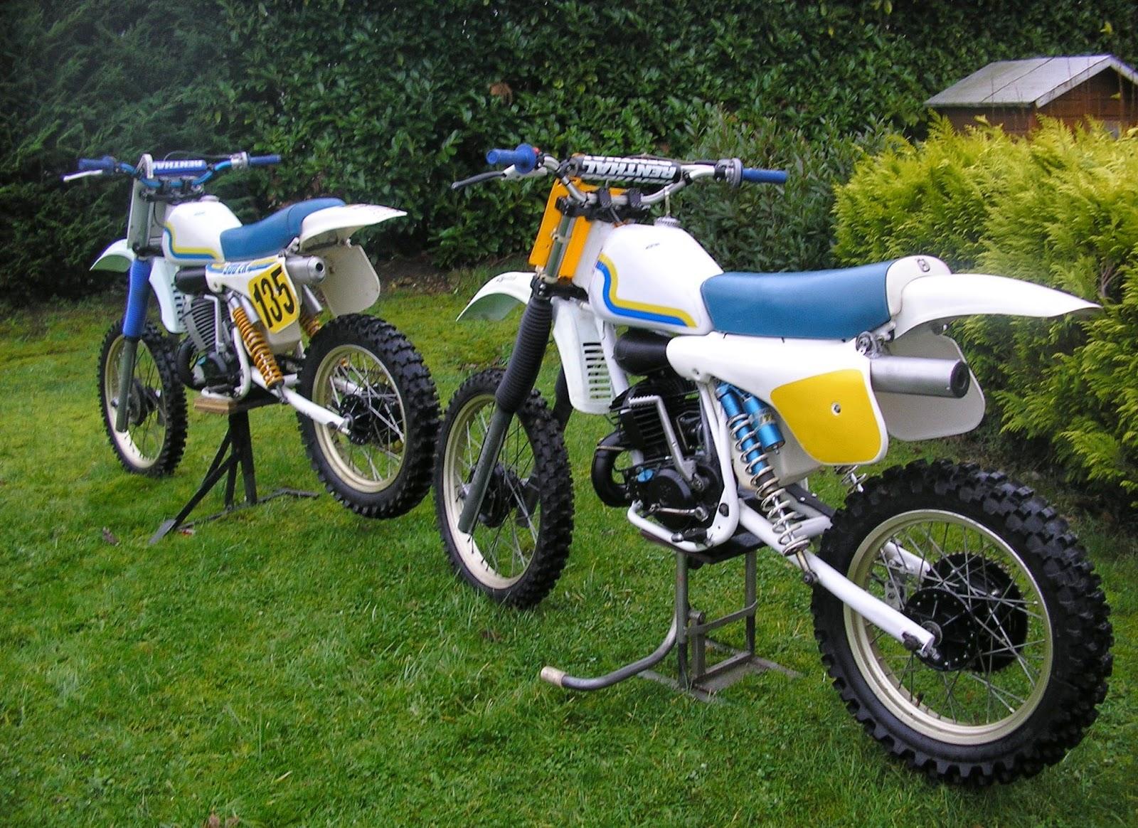 Husqvarna CR250 old Models Bikes
