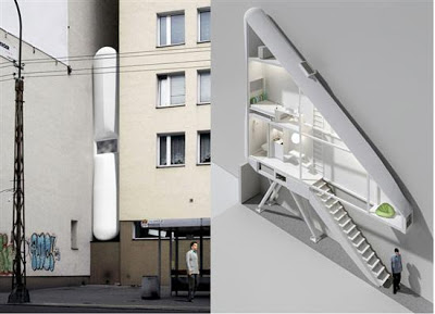 World's Thinnest House in Poland