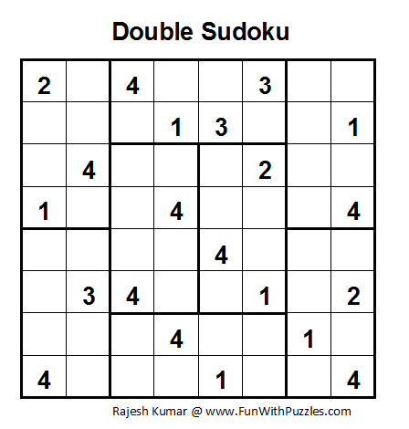 Double Sudoku (Fun With Sudoku #7)