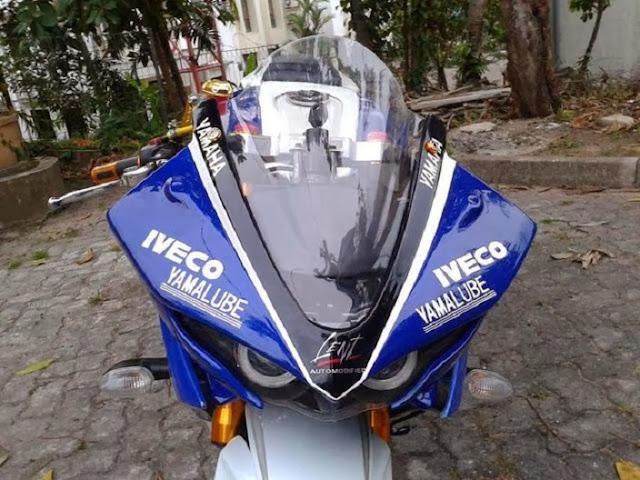 Modifikasi Yamaha Vixion 2012 Depan