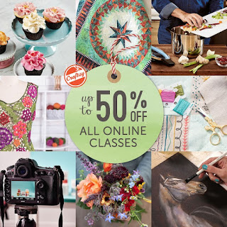 Craftsy Classes on Sale - great Holiday gift!