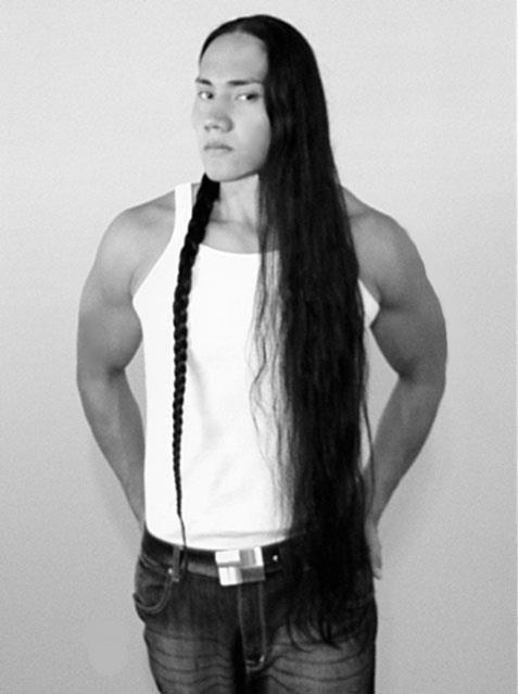 Cute native american guy