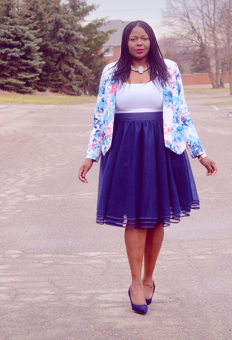 Plus size tutu skirt-Tulle skirt- Assa Cisse