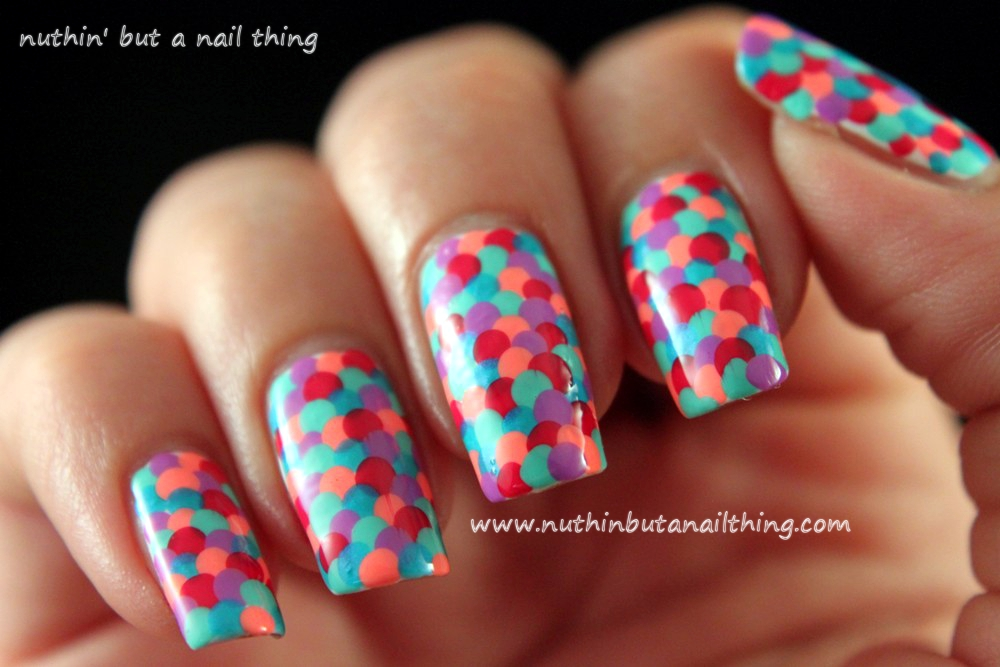 Nuthin but a nail thing fishscale nail tutorial fishscale nail tutorial prinsesfo Choice Image