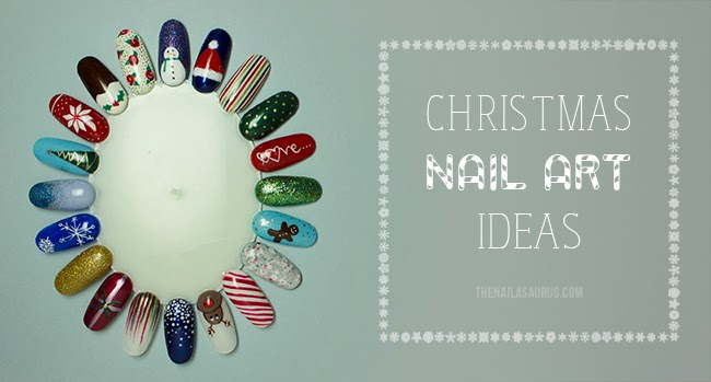 20 Christmas Nail Art Ideas