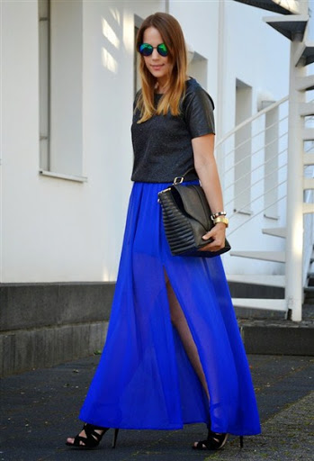 Top fashionable long skirts trends for Spring / Summer 2017/2018