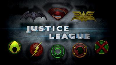 Logos da Liga da Justiça no Estilo do Novo Filme do Homem de Aço
