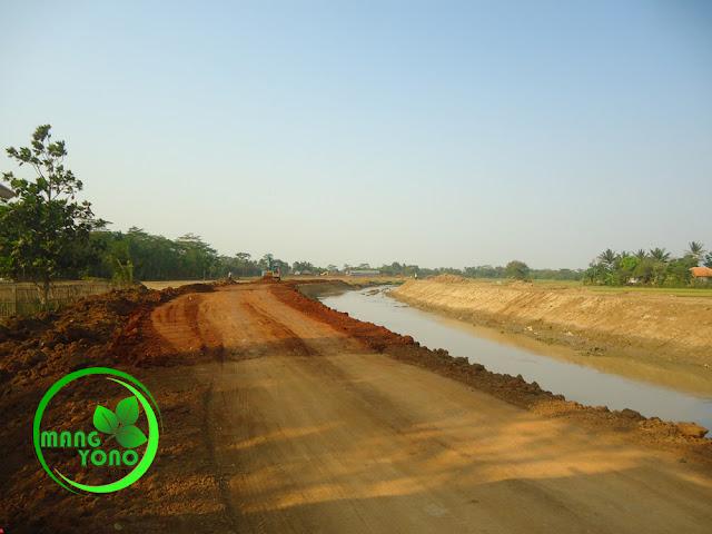 FOTO : Normalisasi sungai ciasem, dusun Gardu