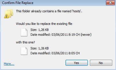 Hướng dẫn cách sữa file hosts vào facebook không bị chặn VaoFB4