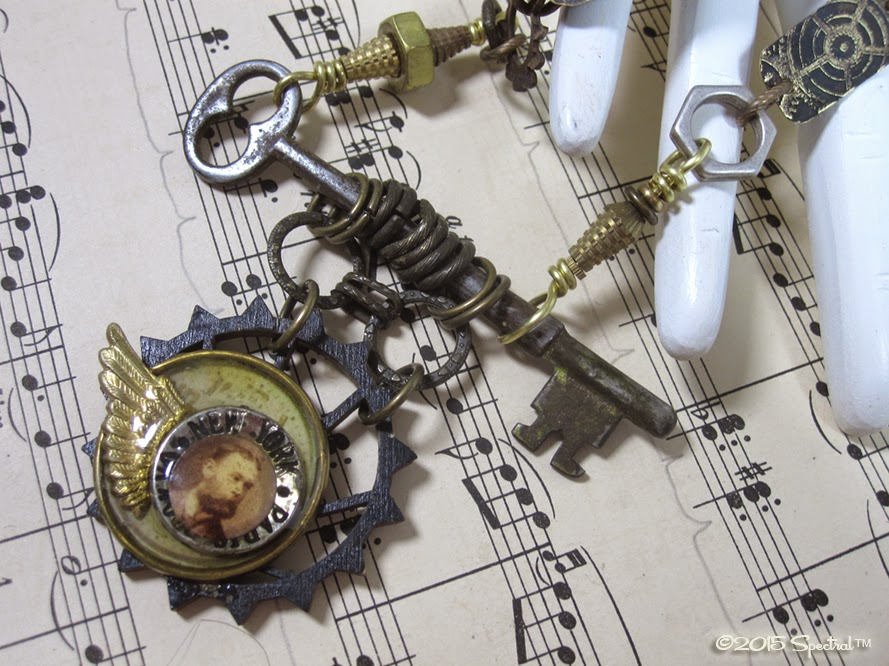 Tinkerer's Steampunk Statement Necklace