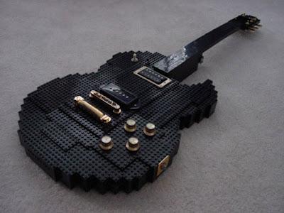 Guitarra de Lego