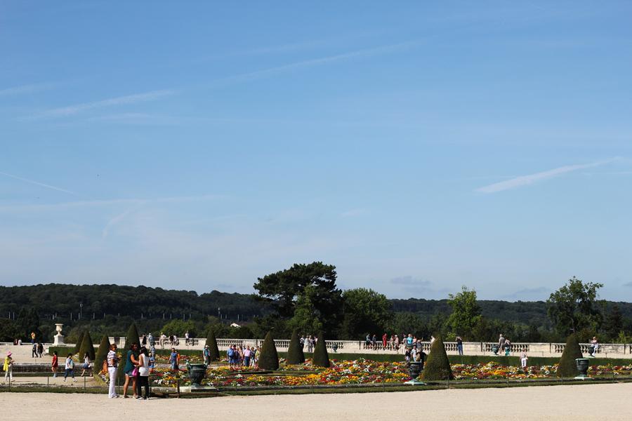 versailles parks frankreich