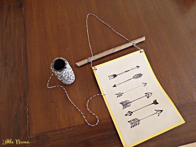 Diy porta laminas rustico tutorial