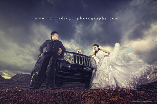 foto prewedding konsep tema polisi 5