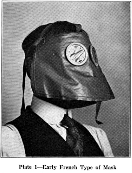 Early French Type of [Gas] Mask