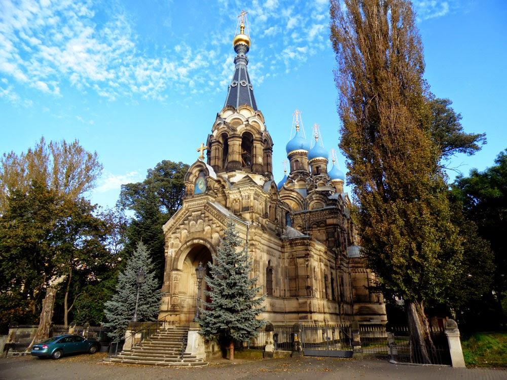 photos of Russisch-Orthodoxe Kirche des Heiligen Simeon vom wunderbaren Berge, Dresden, by Andie Gilmour