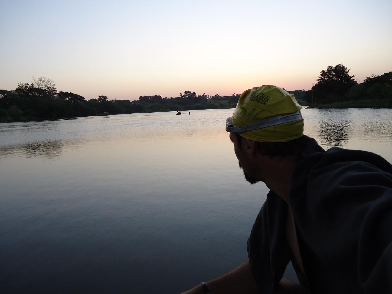 Rogério triatletas em ação