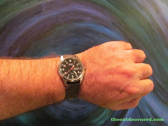 Citizen BM8180-03E Men's Eco-Drive Watch, Shown On Wrist
