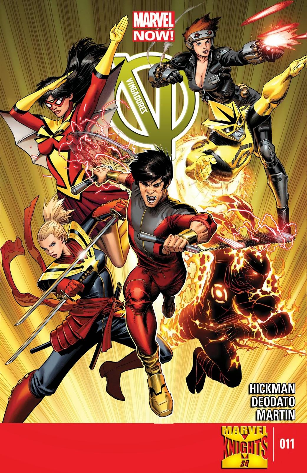 Nova Marvel! Vingadores v5 #11