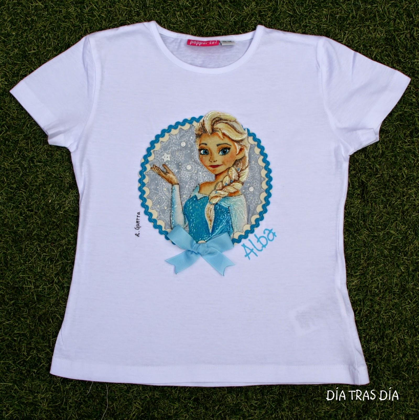 D a tras d a camisetas frozen - Estampar camisetas en casa ...