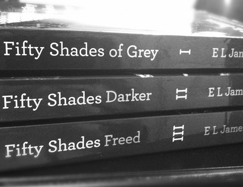 4 Volumes of Fifty Shades of Grey Trilogy and Prequel by E. L. James
