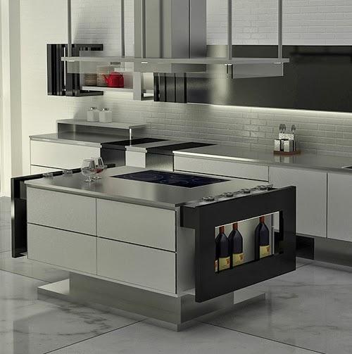 desain interior dapur yang sederhana dan minimalis rumah