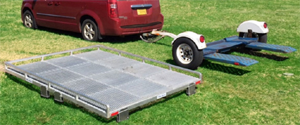 Turn Your Tow Dolly Into A Utility Trailer In Minutes Rv