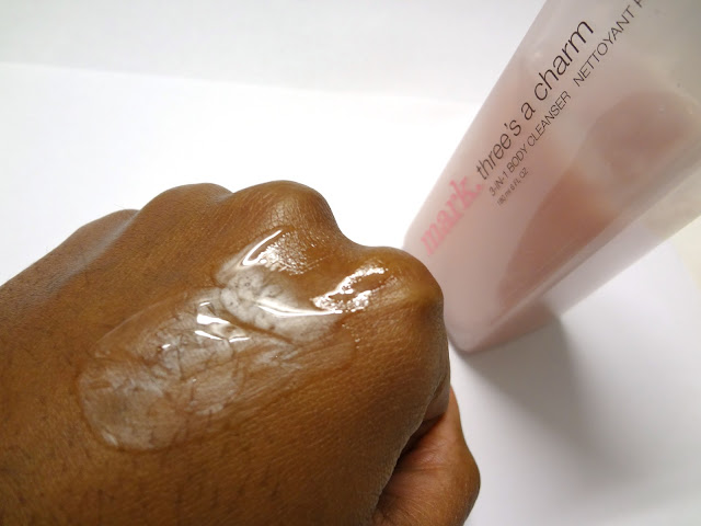 Review: Mark. Three's A Charm 3-in-1 Body Cleanser