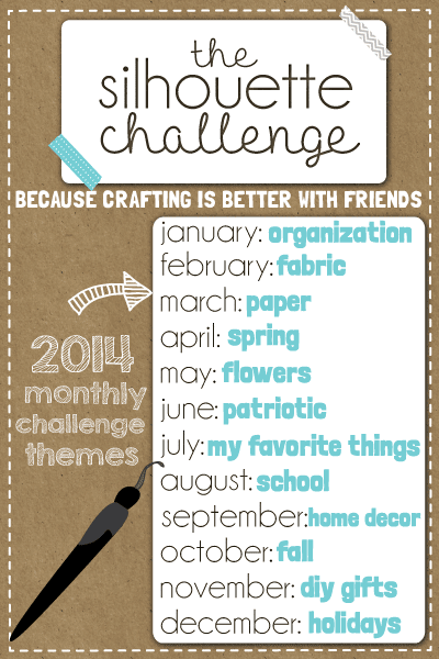 Black and White Obsession |Silhouette Challenge Themes for 2014