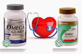 Kawal Kolesterol Dan Tekanan Darah Tinggi Dengan Vitamin Shaklee