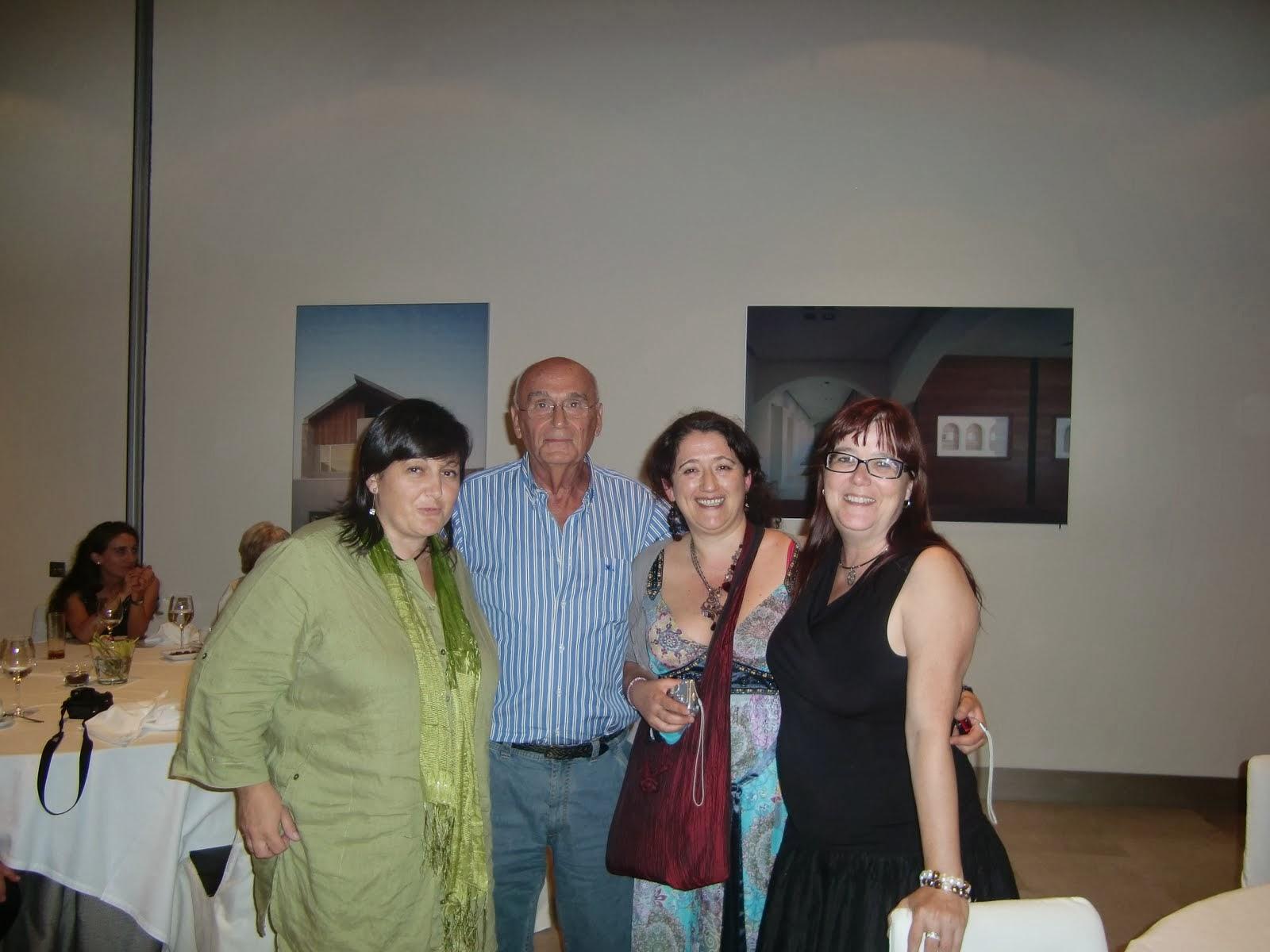 Con Jorge Torres Daudet y mis trillis