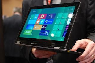 Lenovo sería la primera en presentar un 'tablet' con Windows 8