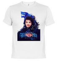 camiseta jon nieve winter is coming - Juego de Tronos en los siete reinos