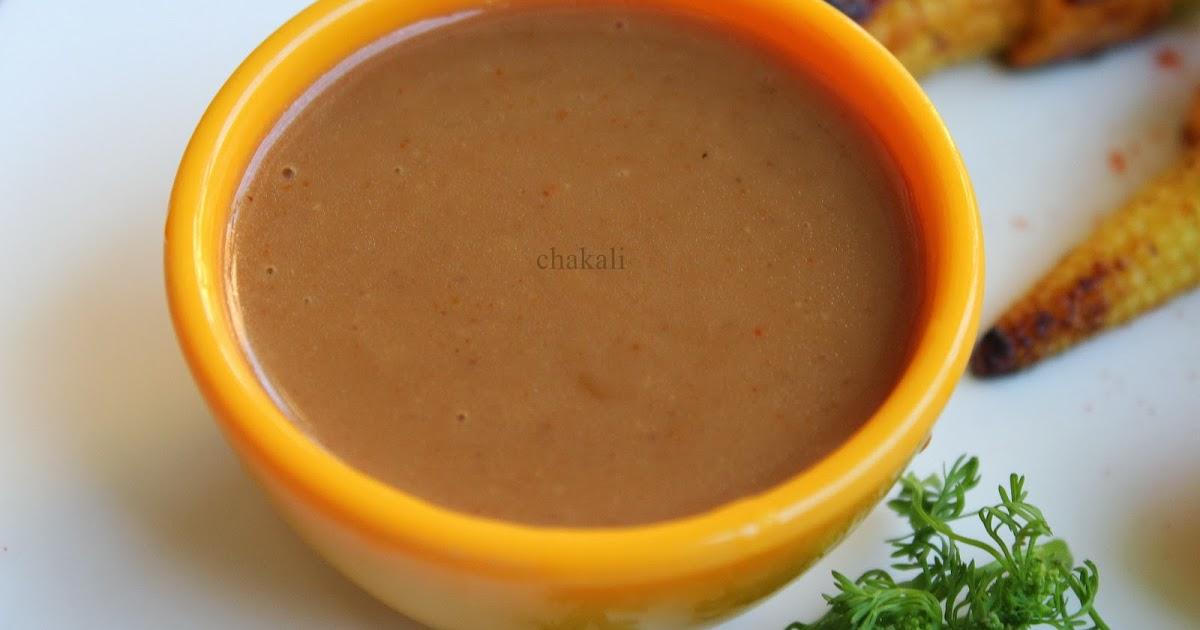 Peanut Sauce | चकली