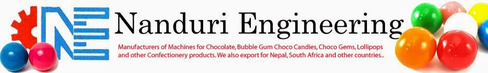 Bubble Gum Machines | Chocolate Candies Machinery | Manufacturers | Exporters | Suppliers