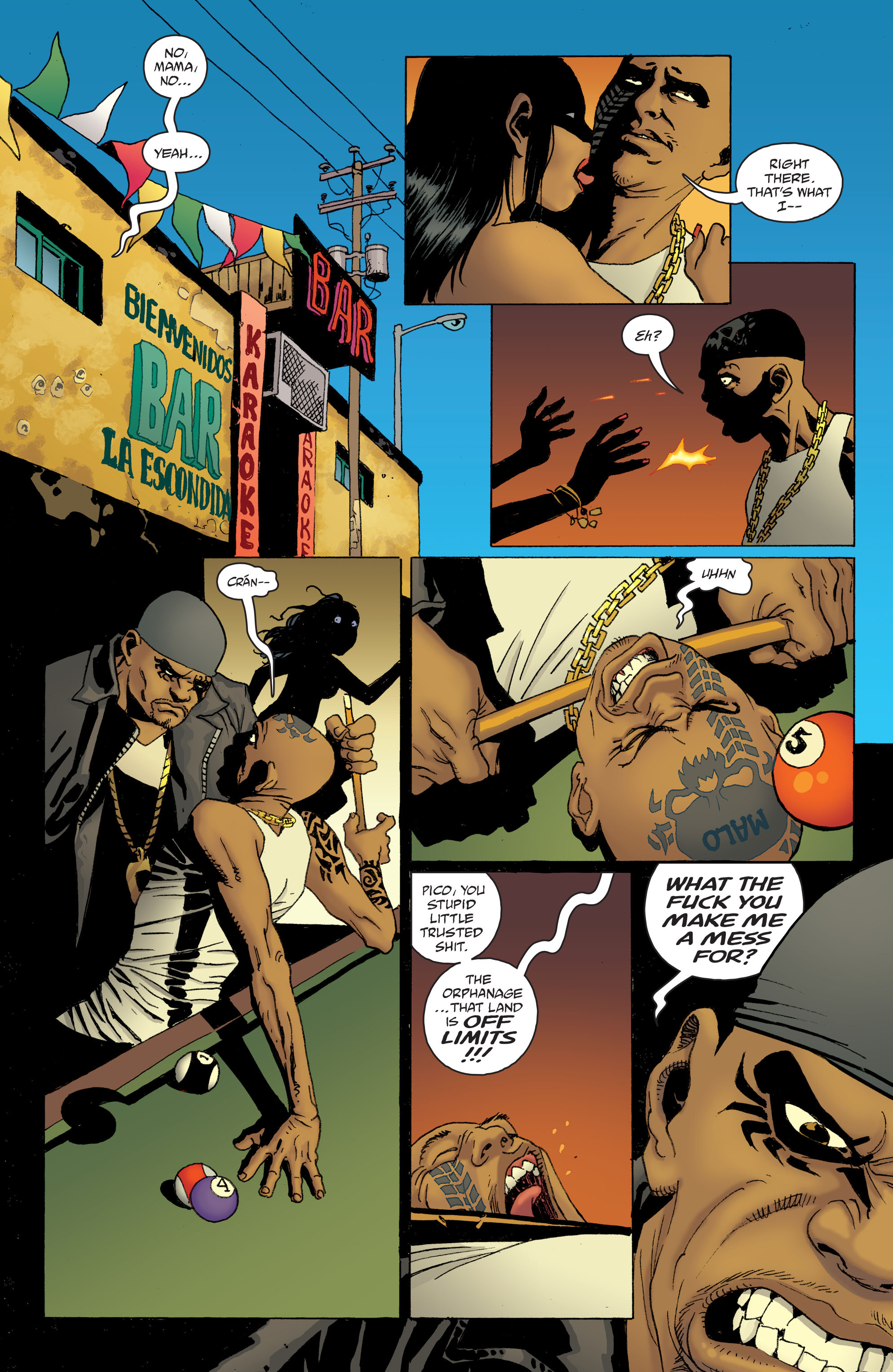 100 Bullets: Brother Lono Full Page 68