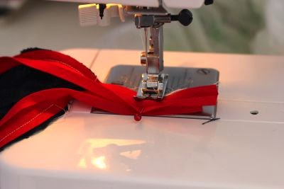 How to sew bias tape ends together