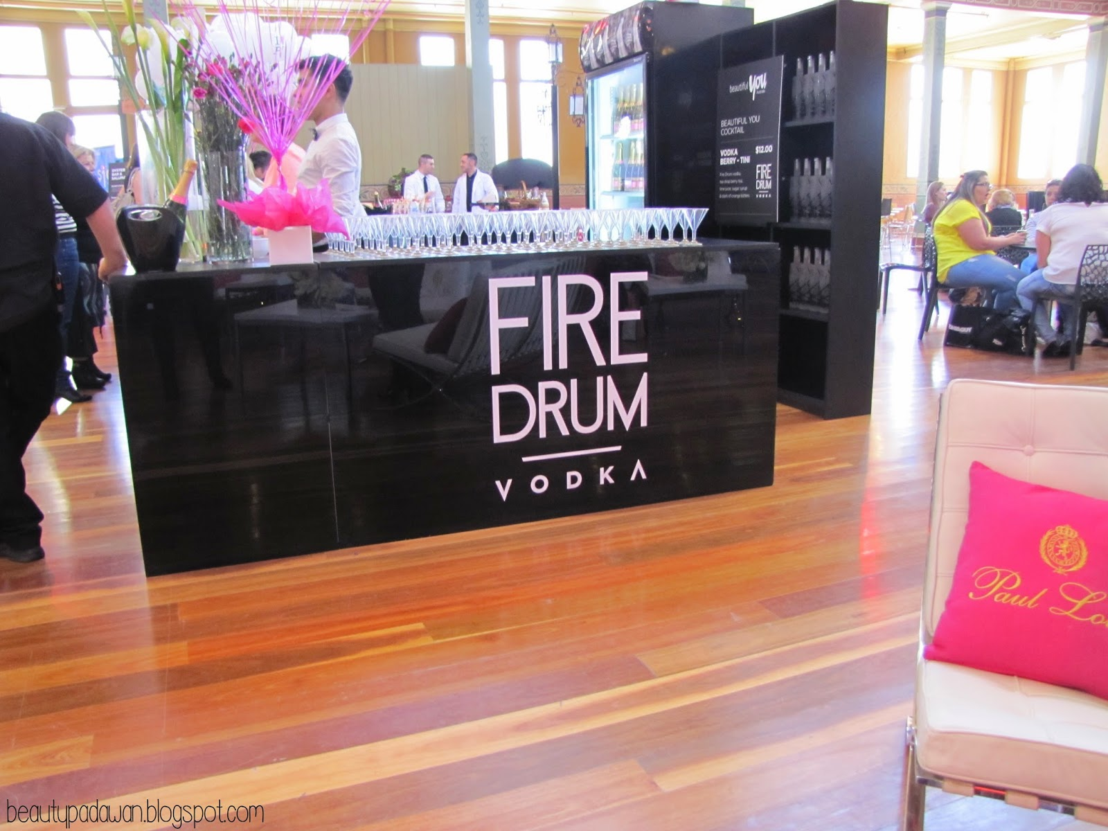 Beautiful You Australia; Fire Drum Vodka